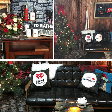 decor for iHeart JB event
