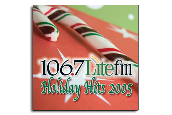 CD Cover for Lite FM Holiday Hits