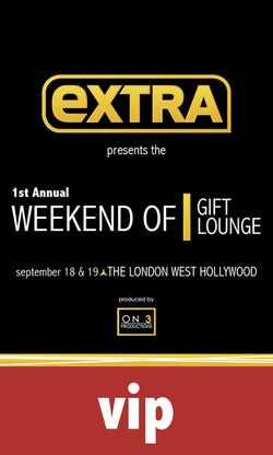 Extra TV Celebrity Gift Lounge