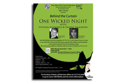 One Wicked Night event poster