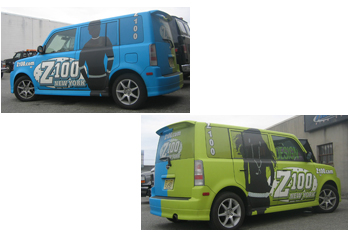 Z100 Vehicle Wrap