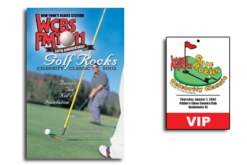 WCBS Golf Rocks Event