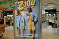 Z100 Mall Signage