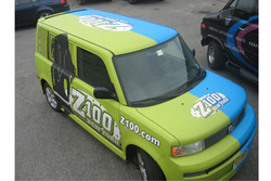 Z100 Vehicle Wrap