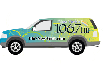 Lite FM Vehicle Wrap