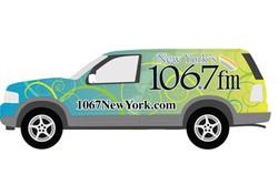 Lite FM Vehicle Wrap