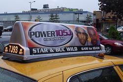 Power 105.1 Taxi Top