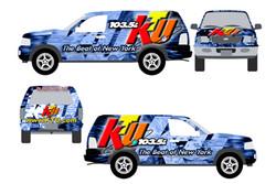 KTU Vehicle Wrap