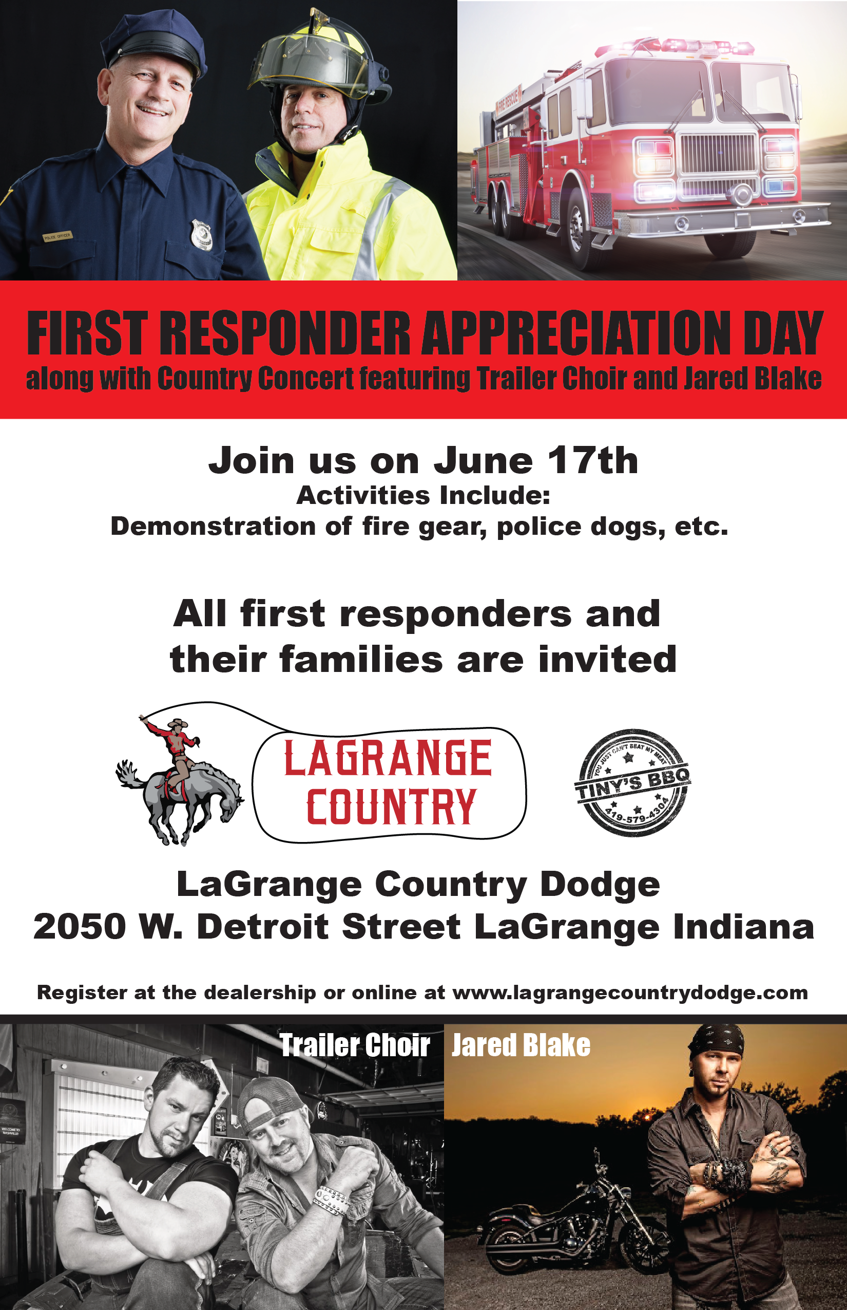 LaGrange Auto event flyer