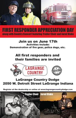 LaGrange Auto event flyer