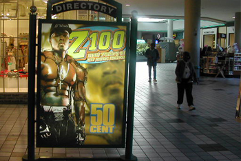Z100 Mall Signage