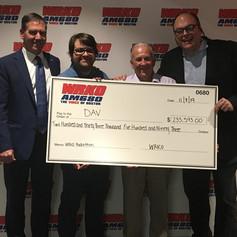 WRKO raises money for Veterans