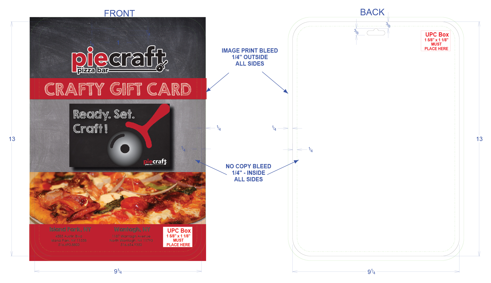 piecraft pizza costco discount card