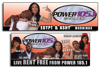 Power 105.4 Outdoor Billboard