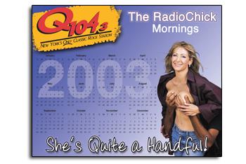Q104.3's Radio Chick Calendar