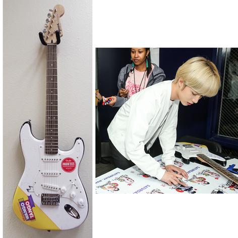 Custom Guitar for Wango Tango 2019