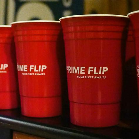 PrimeFlip red cups