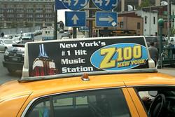 Z100 Taxi Top