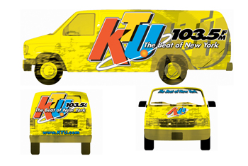 KTU Vehicle Wrap
