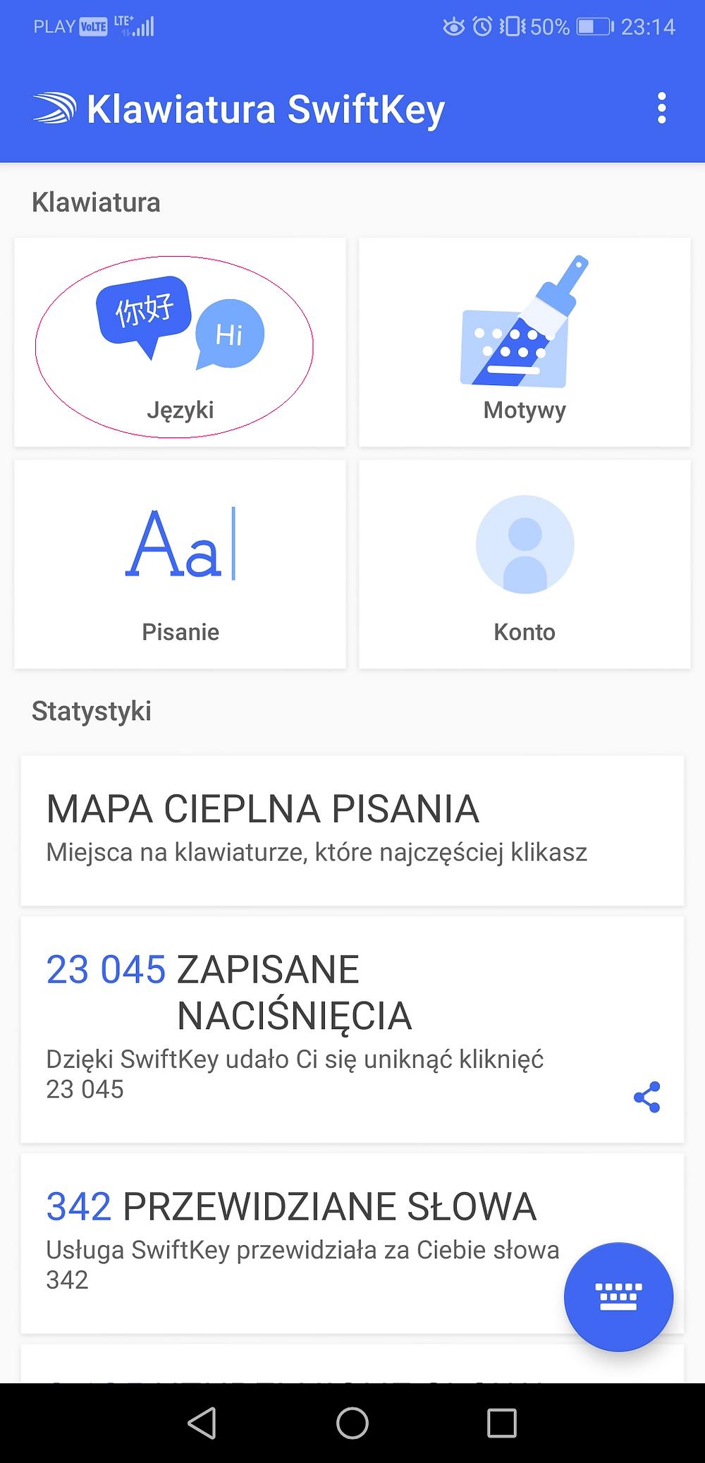 Android - instalacja języka arabskiego