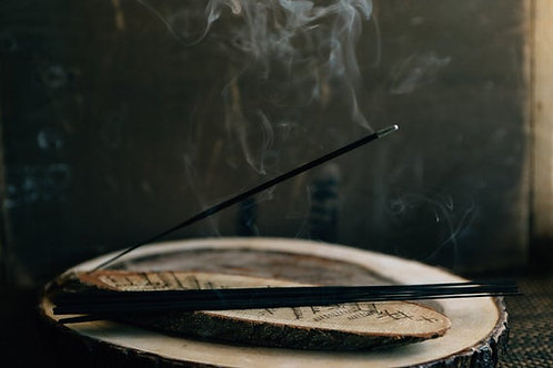 SHADOW: hand dipped incense