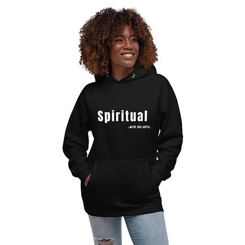 Spiritual... Unisex Hoodie BLK