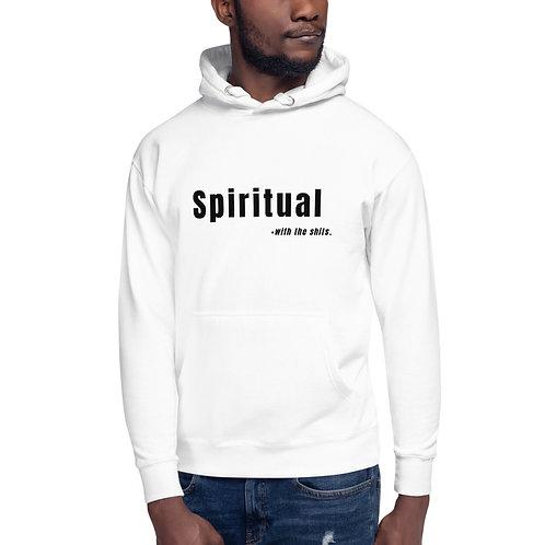 Spiritual... Unisex Hoodie White