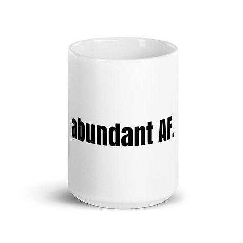 Abundant AF Mug (15 oz)