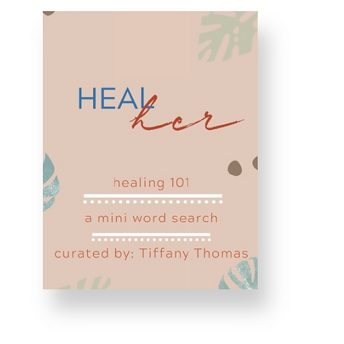 Healing 101 : a mini word search