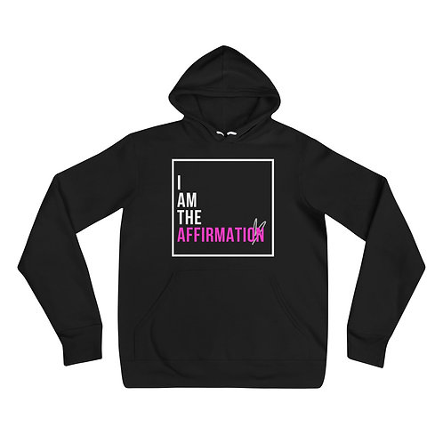 """I Am The Affirmation"" Unisex Adult Pullover Hoodie"