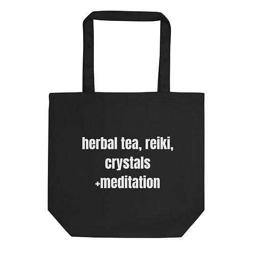 herbal tea, reiki...Mini Eco Tote Bag