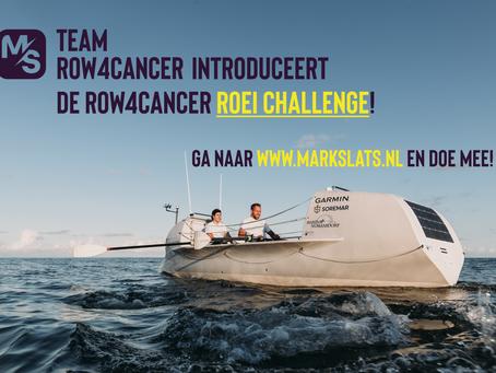 Inschrijvingen row4cancer roei challenge gestart