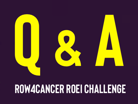 Q&A row4cancer roei challenge
