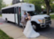 Exquisite Limousine, wedding limo, Chicago Party Bus