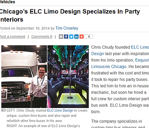 ELC Limo Designs - Party Bus and Limo conversions