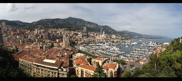 My tour in Monaco