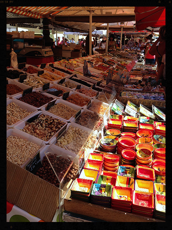 My market experience in Cours Saleya