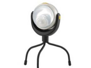 どこでもセンサーライト 電池式 高輝度白色LED 1W 防雨タイプ「ASL090」