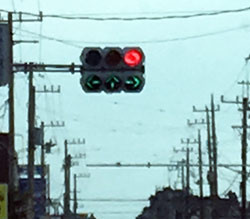 Strange Traffic Light  変わった信号機