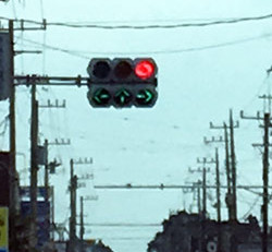 Strange Traffic Light  変わった信号機