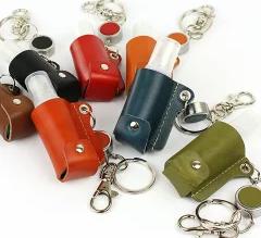 栃木レザー スプレーボトル 携帯用レザーケース