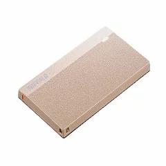 バッファロー USB3.2 超小型SSD 480GB SSD-PSM480u3-SP スモーキーピンク