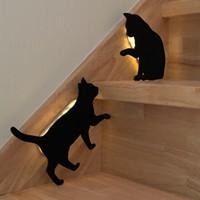 ウオールライト 猫と柴犬