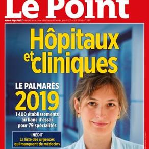 Le Point 2019 - N°1 du Canal carpien en Ile de France...