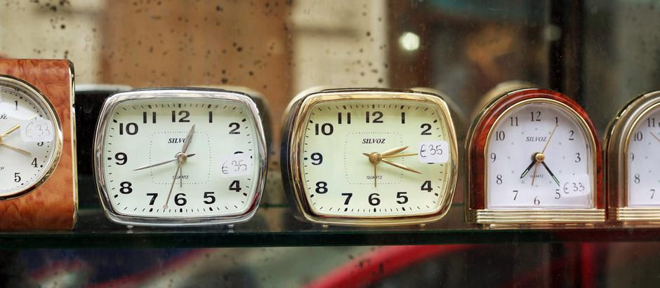 Tiempo suspendido.