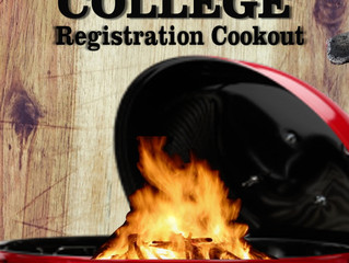 LCO College Registration Cookout, May 23rd