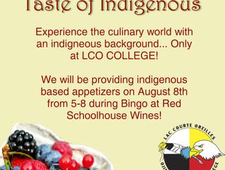Taste of Indigenous at Red Schoolhouse Wines!