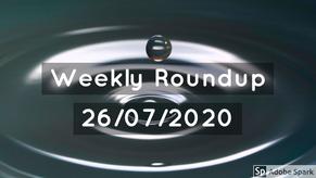 Weekly Roundup 27/07/2020