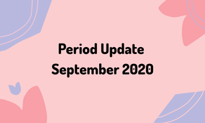 Period Update September 2020