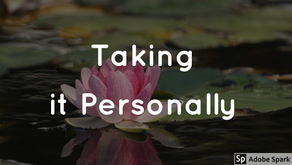Taking it Personally